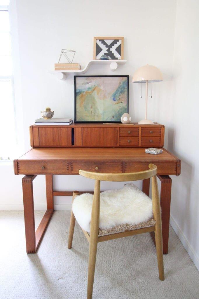 Mid-century modern vintage desk