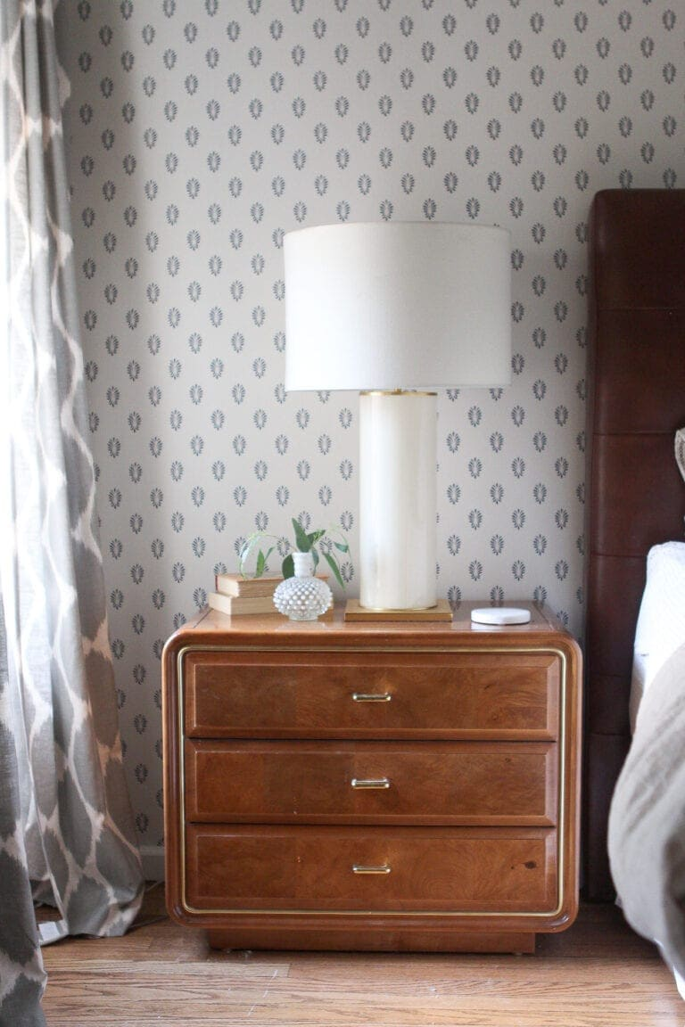 Vintage mid-century modern nightstand