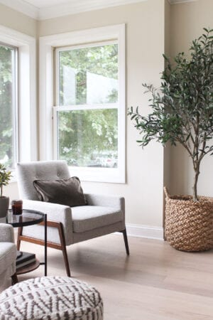 Adding living room seating to our space
