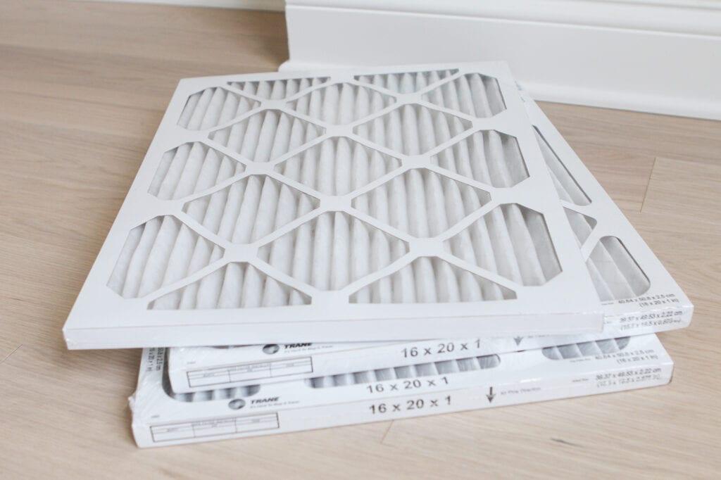 Trane air filter pack