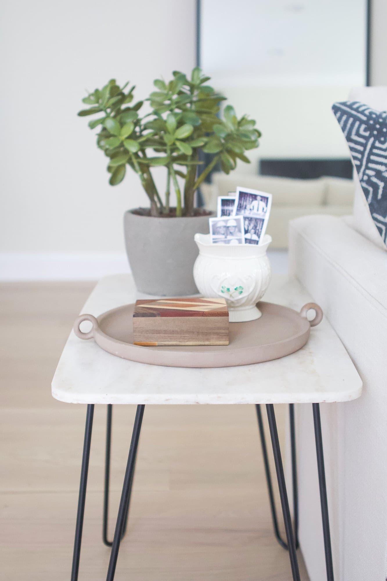 DIY side table