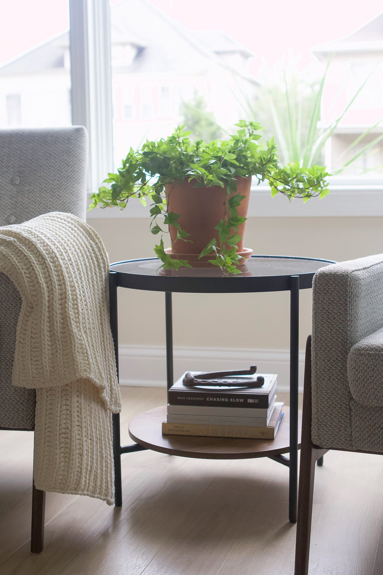 Side table from Article