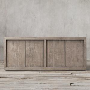 Reclaimed oak sideboard from restoration hardware