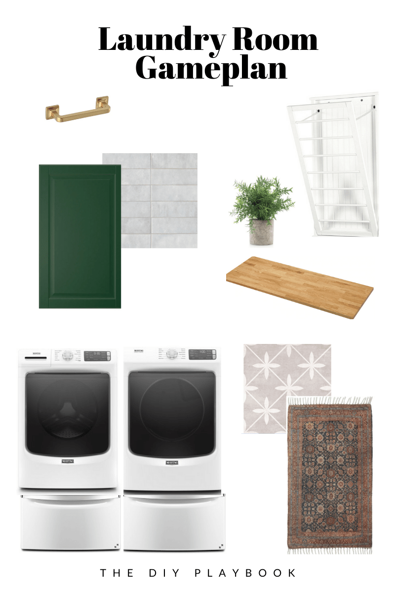 DIY laundry room gameplan