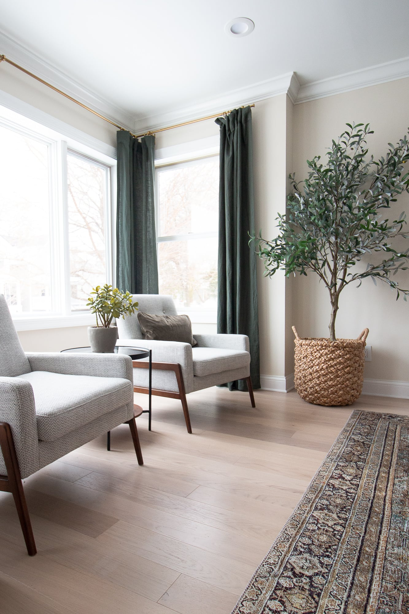 Olive tree from crate and barrel on black friday sales 2019