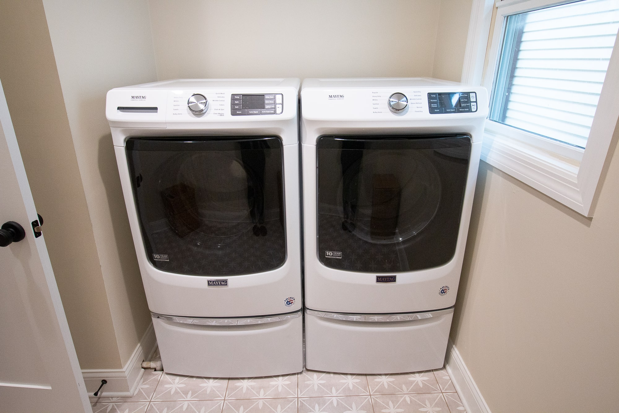 Our new washer and dryer