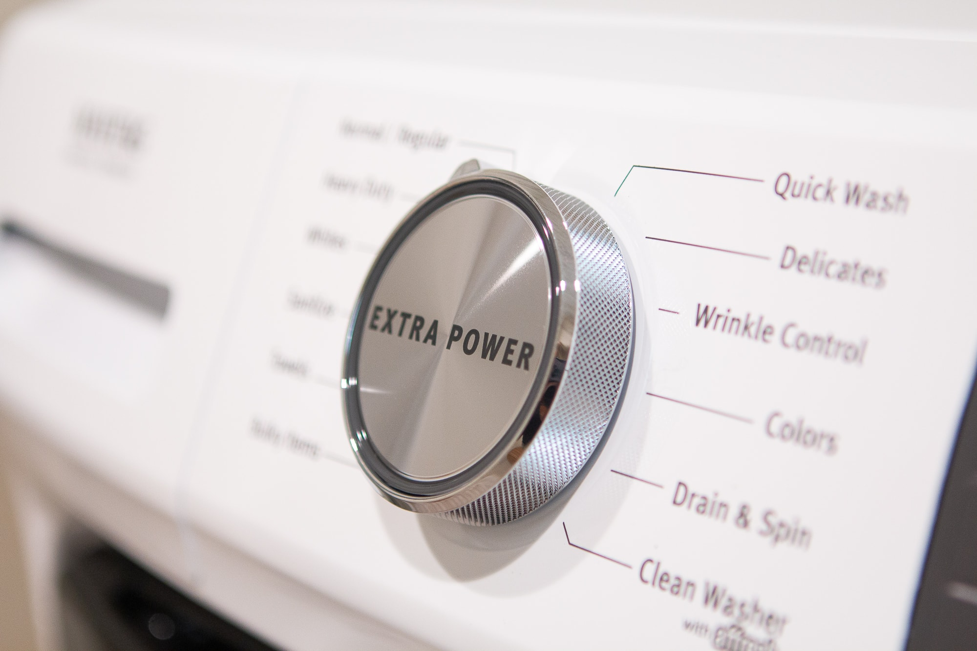 Extra power button on Maytag washer