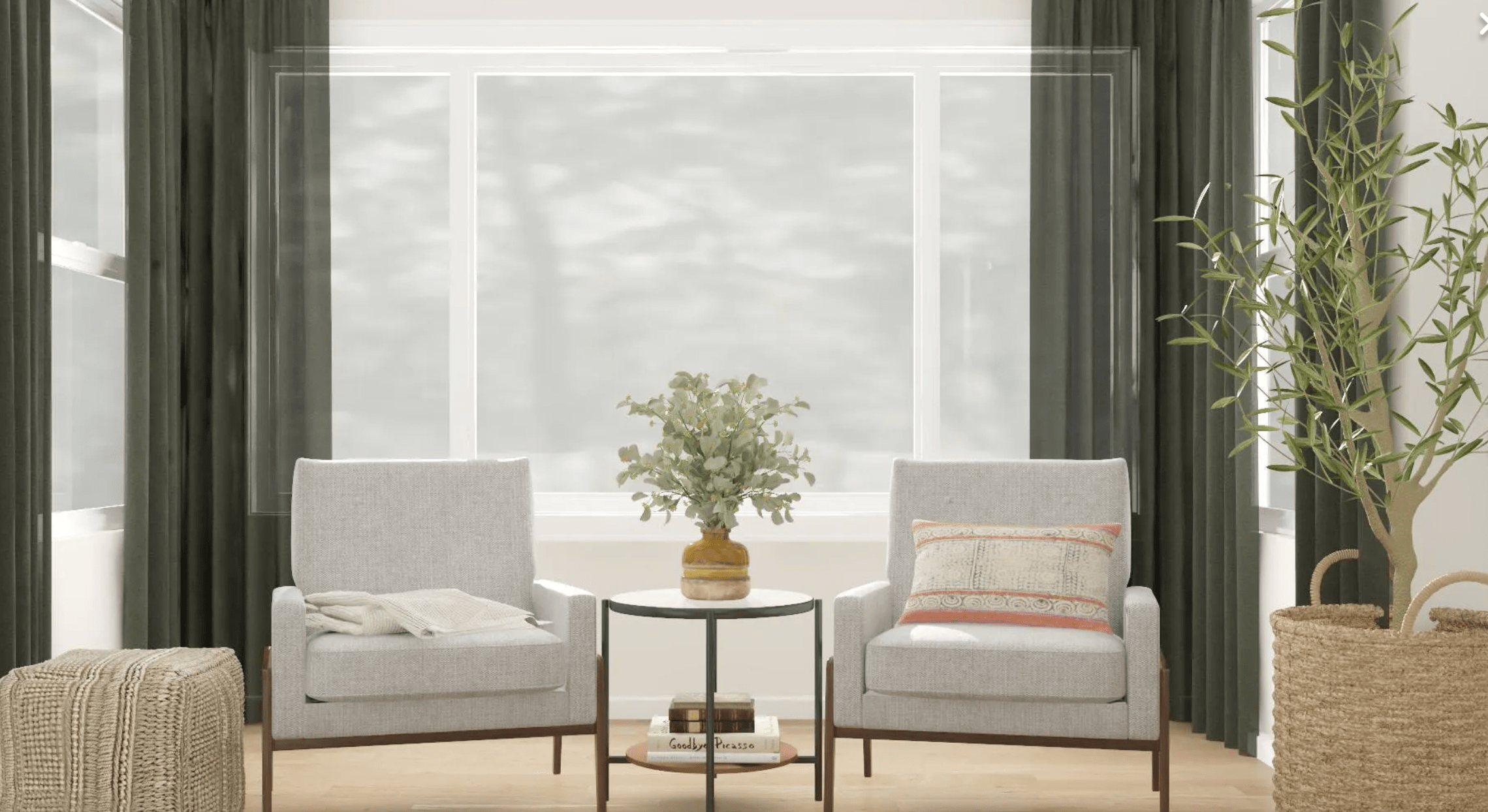 Modsy living room design