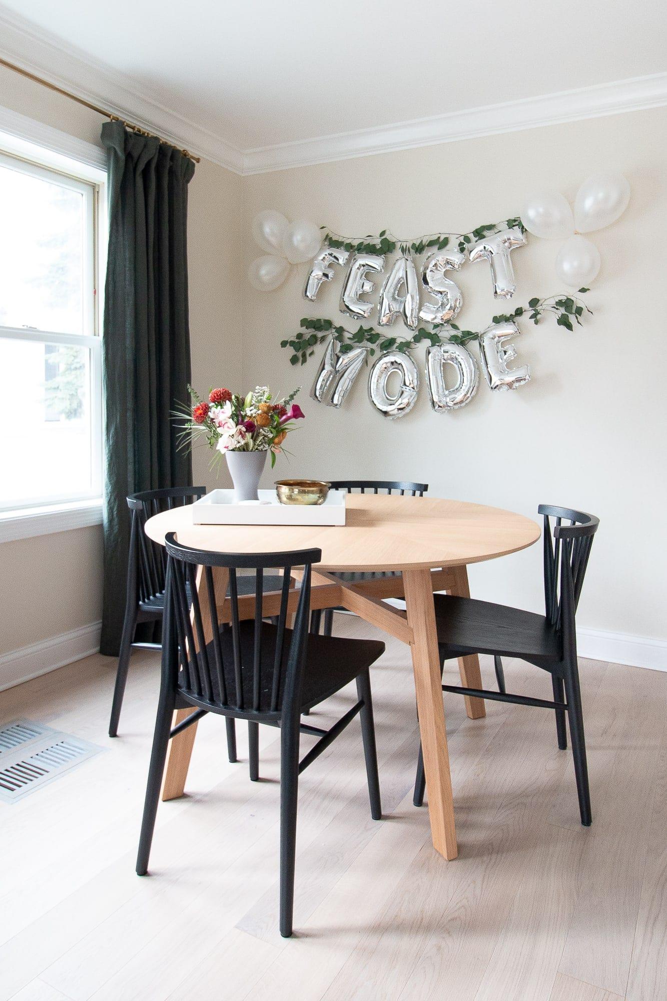 Feast mode Thanksgiving decor