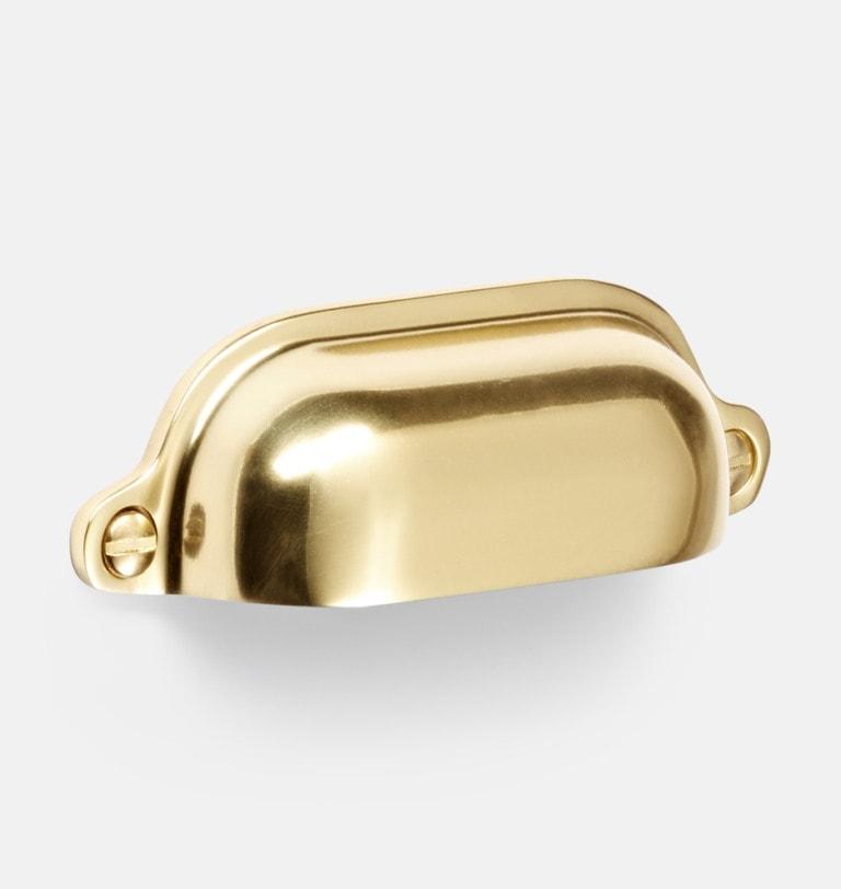 brass bin pull