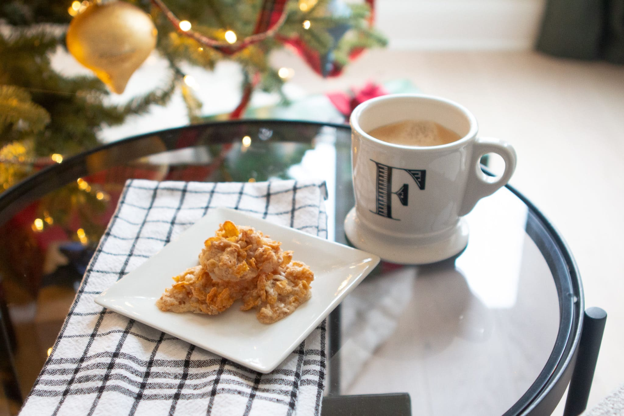 Coconut crispies cookie recipe for Christmas