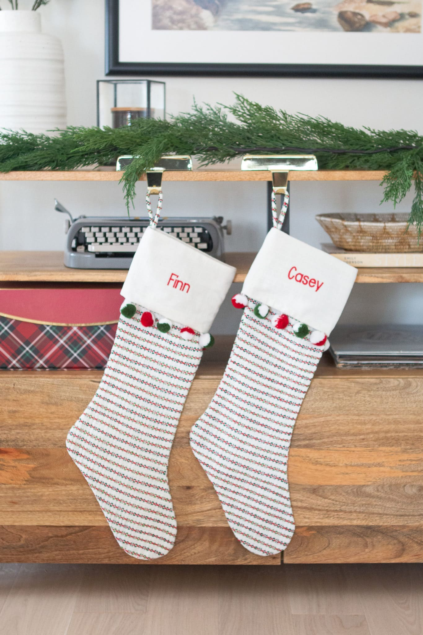 Crate and barrel stockings