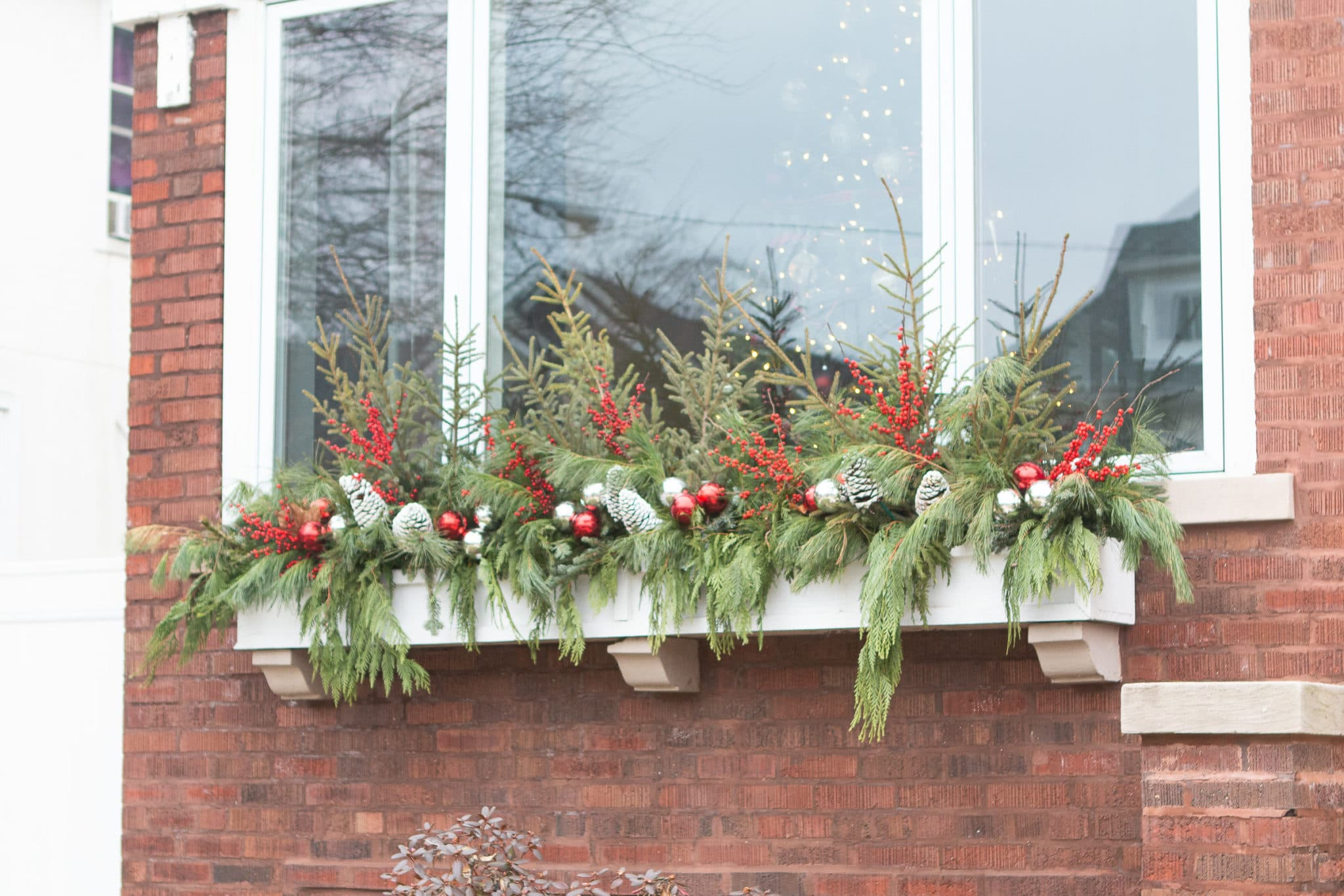 My front window box for the hoilday season