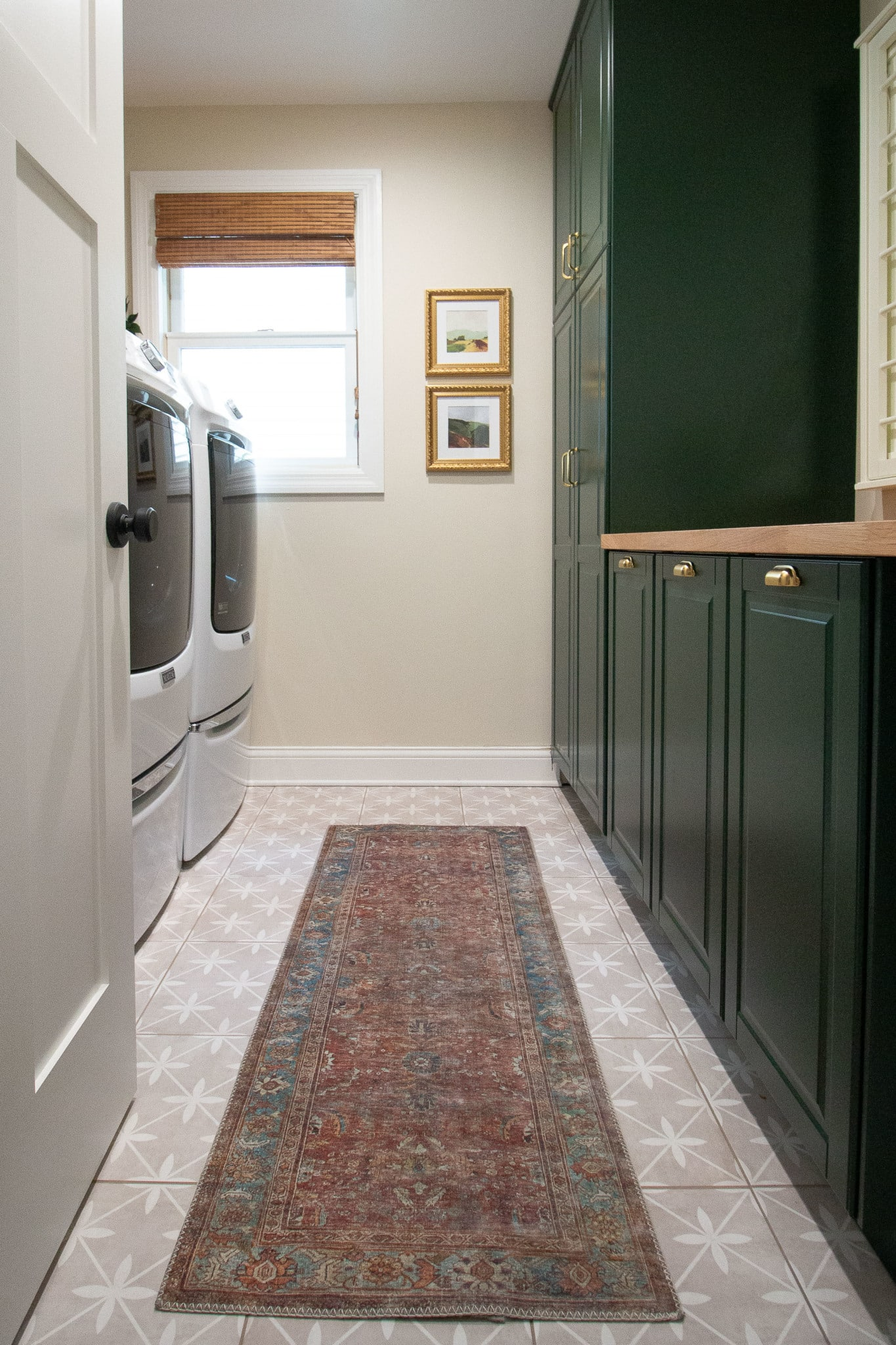 Our DIY laundry room makeover