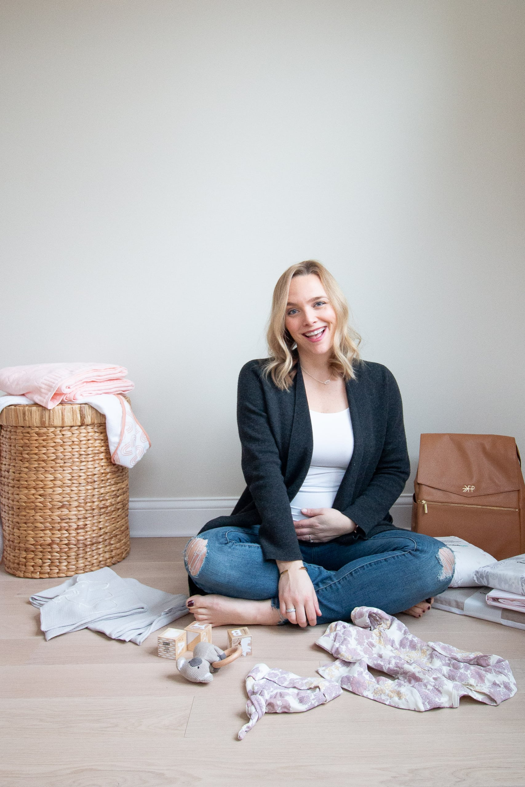 How I'm tackling our baby registry