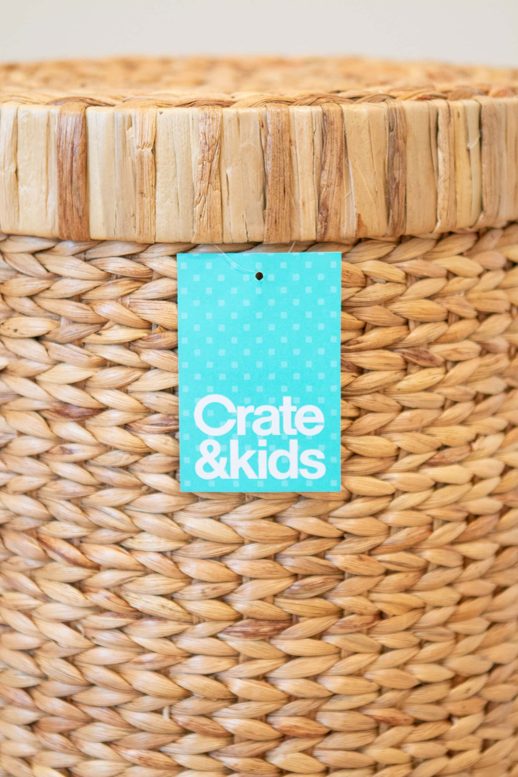 I love this nursery hamper from Crate and Kids