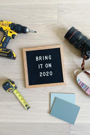 Setting 2020 Home Goals for Our Finn Fixer Upper