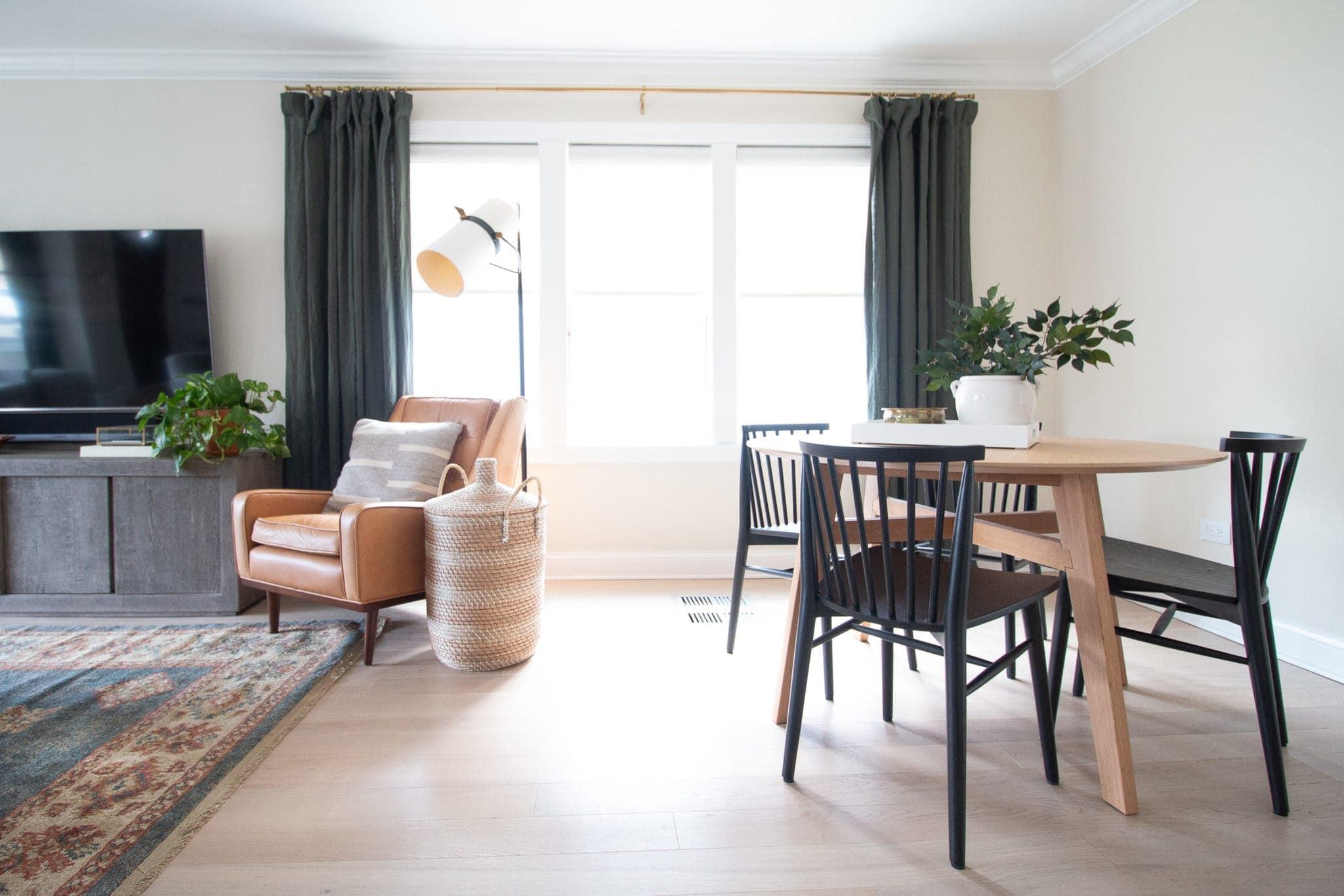 Modern organic living room