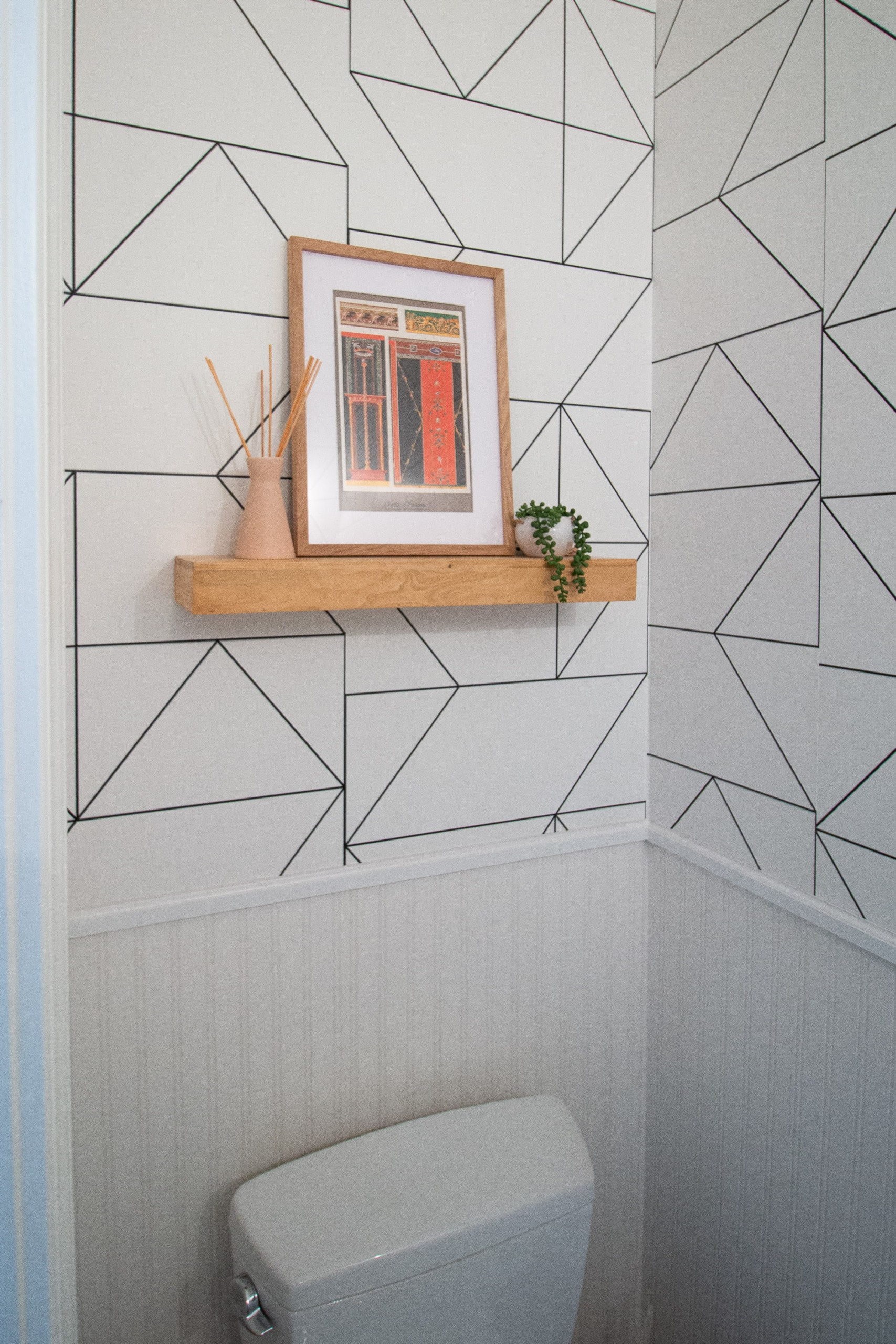 Powder room DIY project