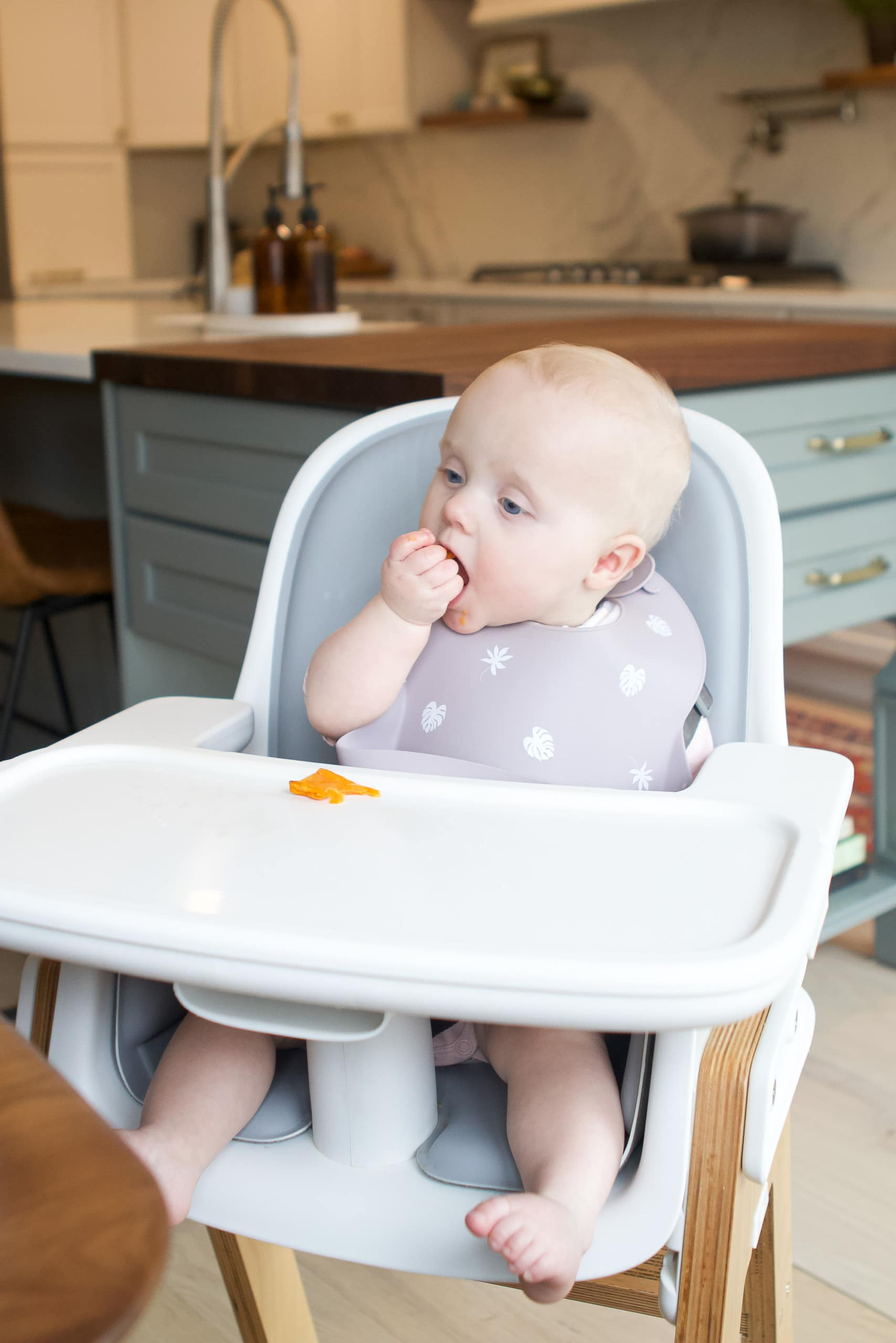Our experience with baby led weaning