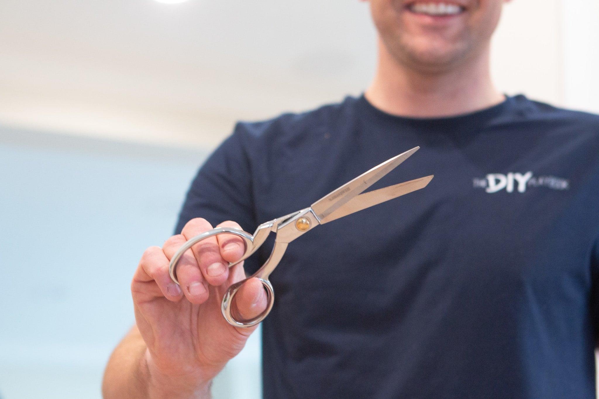 New fabric scissors