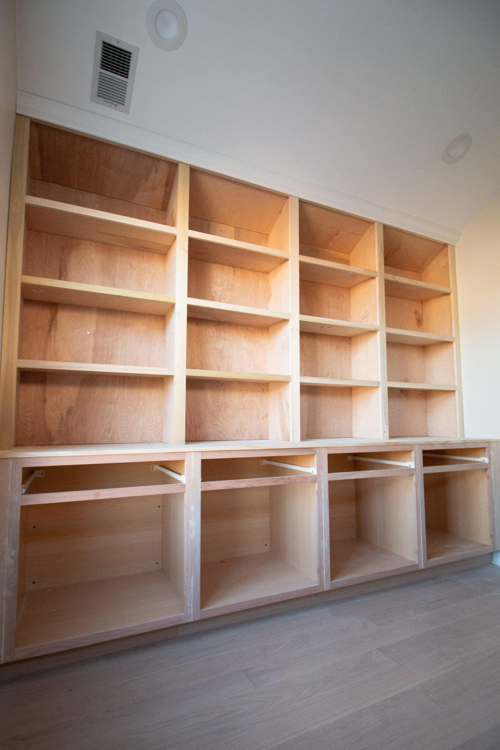 DIY built-ins