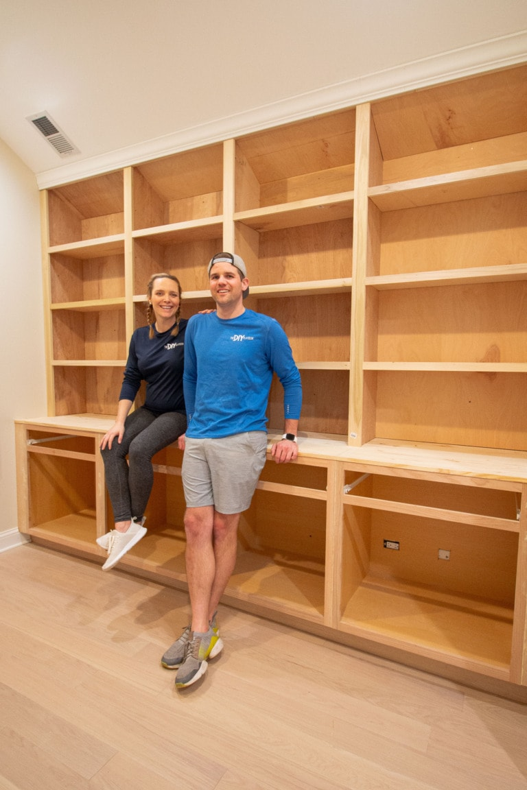 How to create DIY built-ins