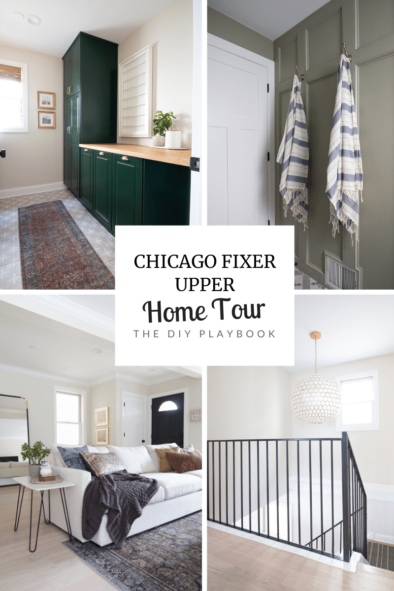Our Finn fixer upper with modern organic style