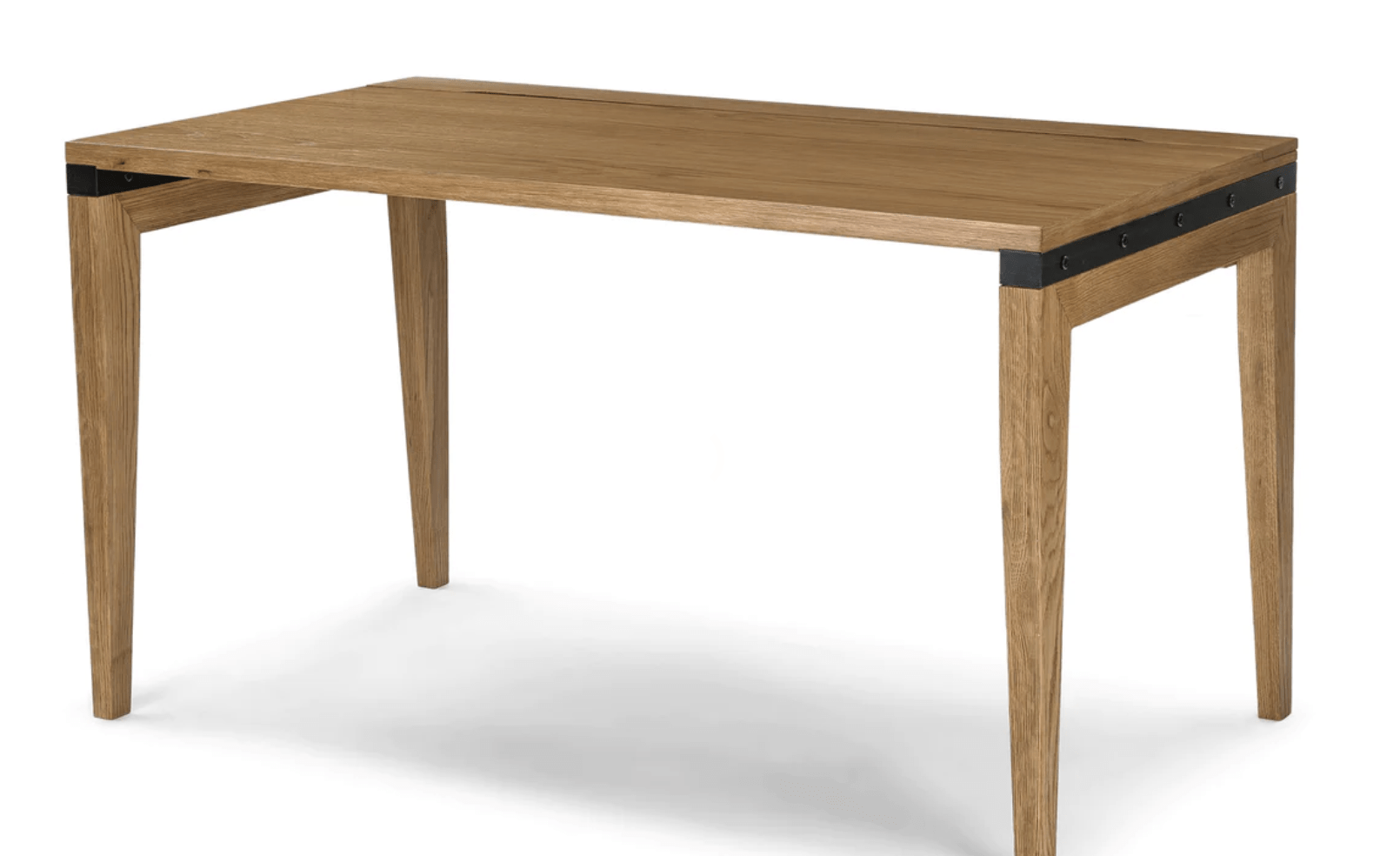 oak desk from Article