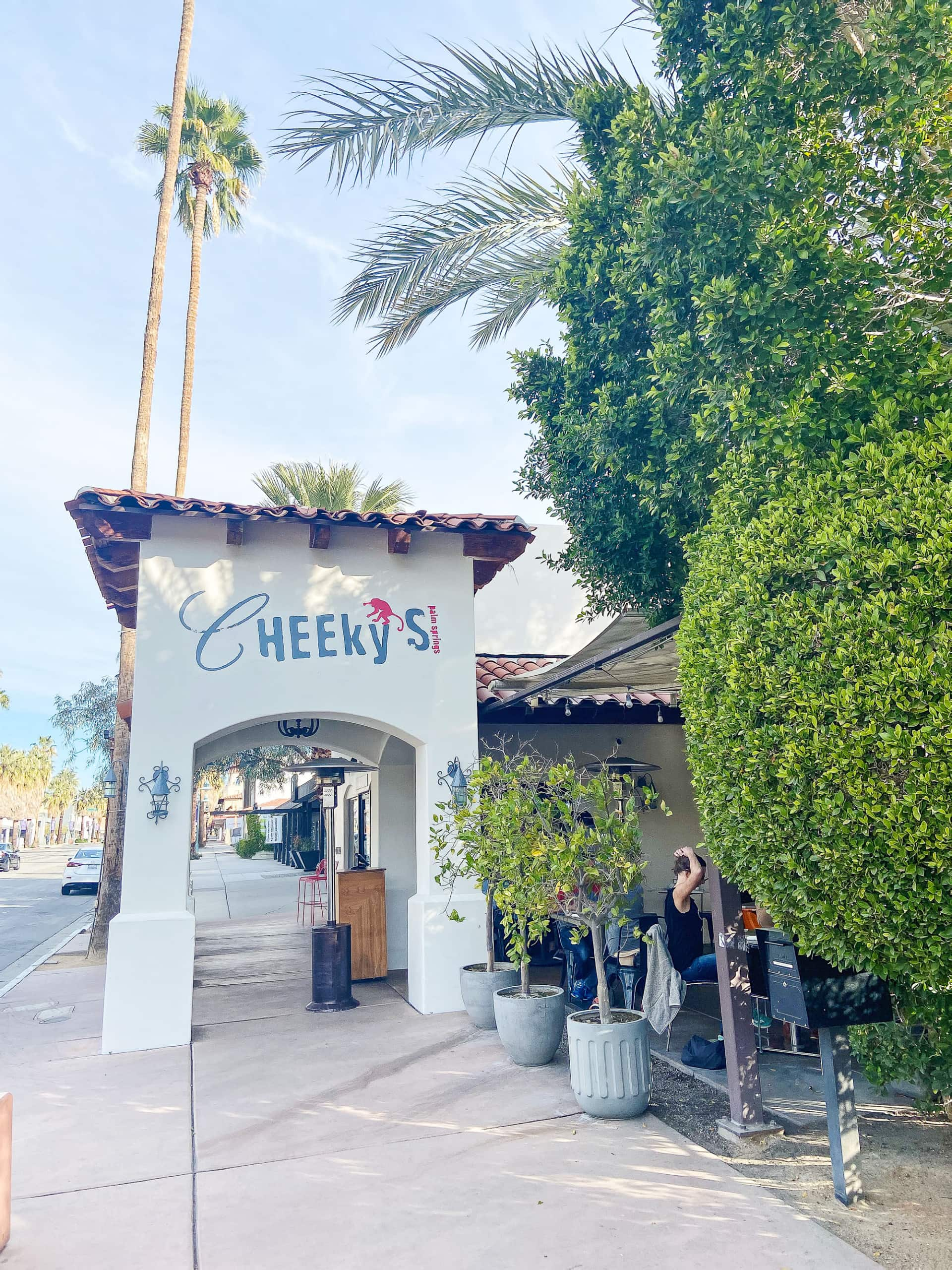 cheeky's in palm springs