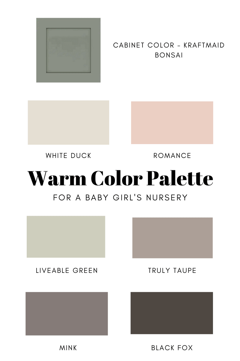 Nursery Paint Color Pale Pinks The