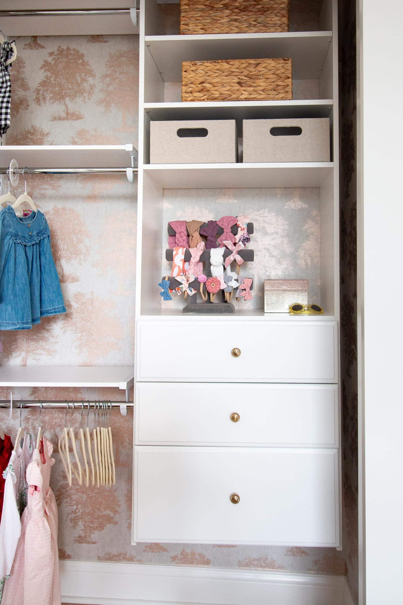 White closet kit