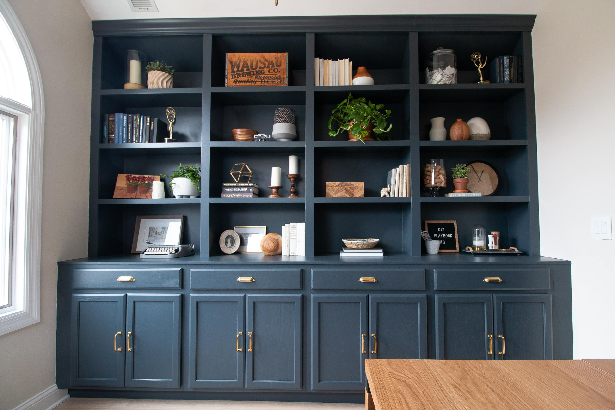 Our new DIY office built-ins and budget breakdown