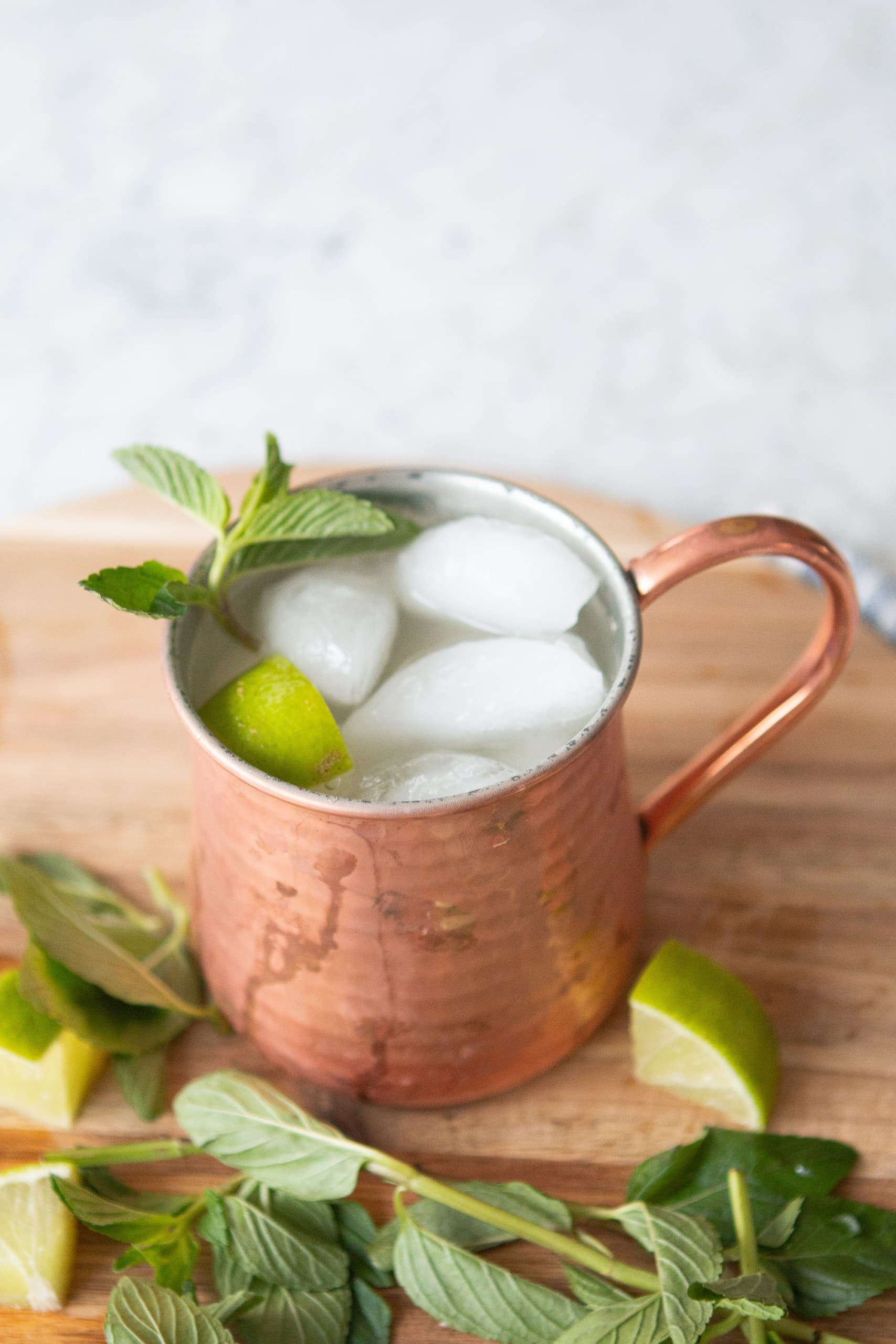 How to make a mocktail mule