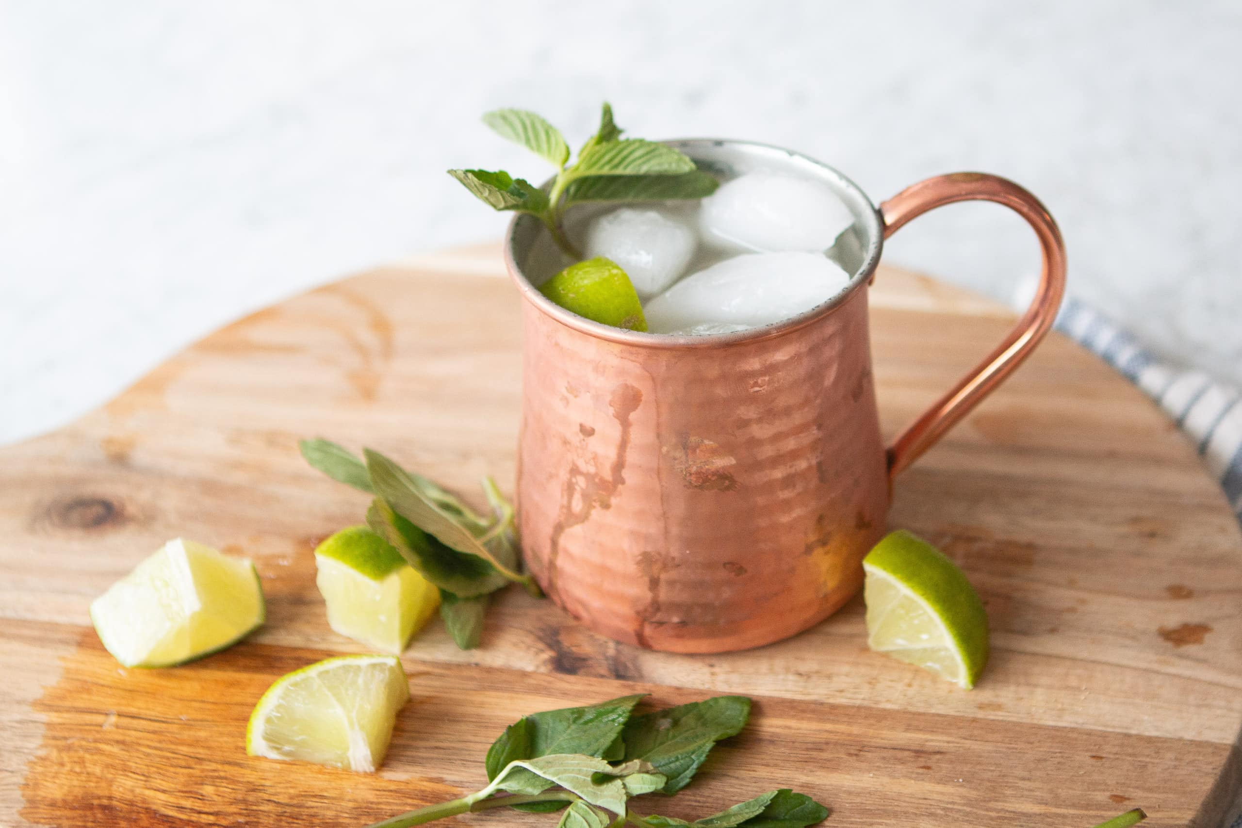 How to make a mocktail mule to drink during pregnancy