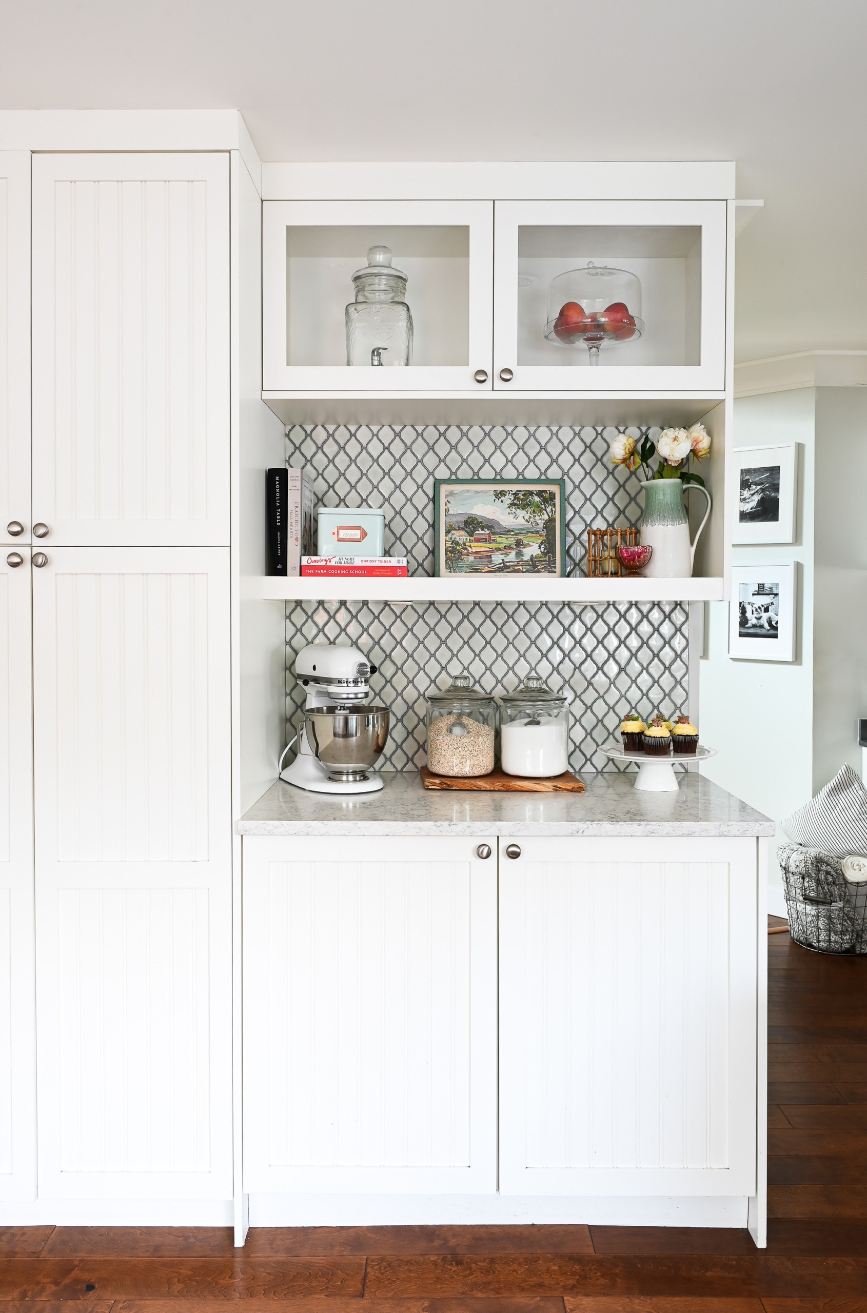 Kitchen butler pantry
