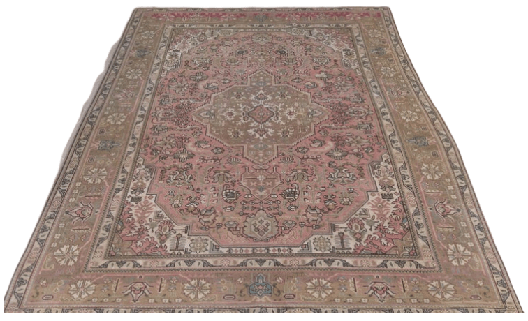 turkish rug for the nursery