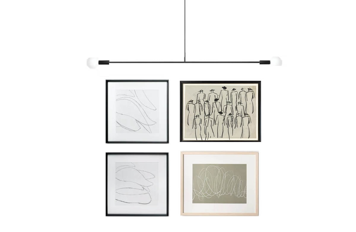Choosing artwork for a dining room in a condo