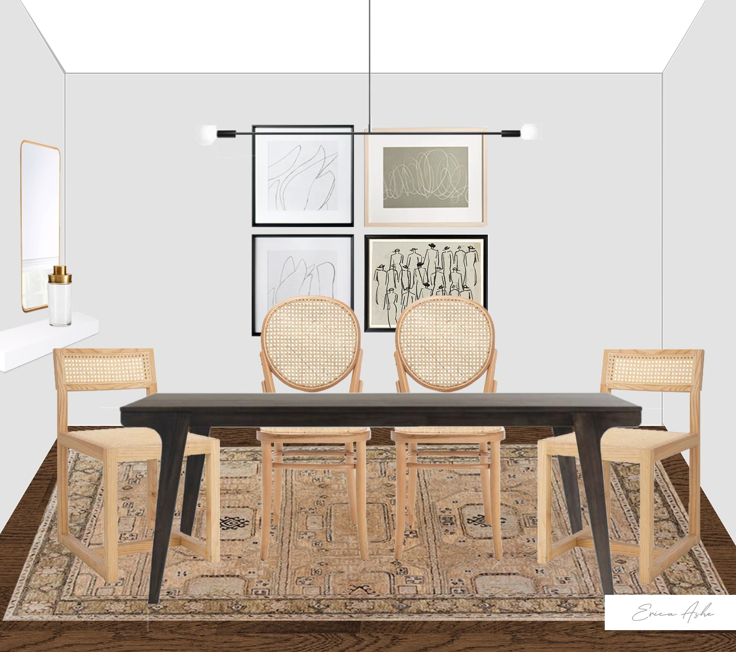 Designing a dining room in the city