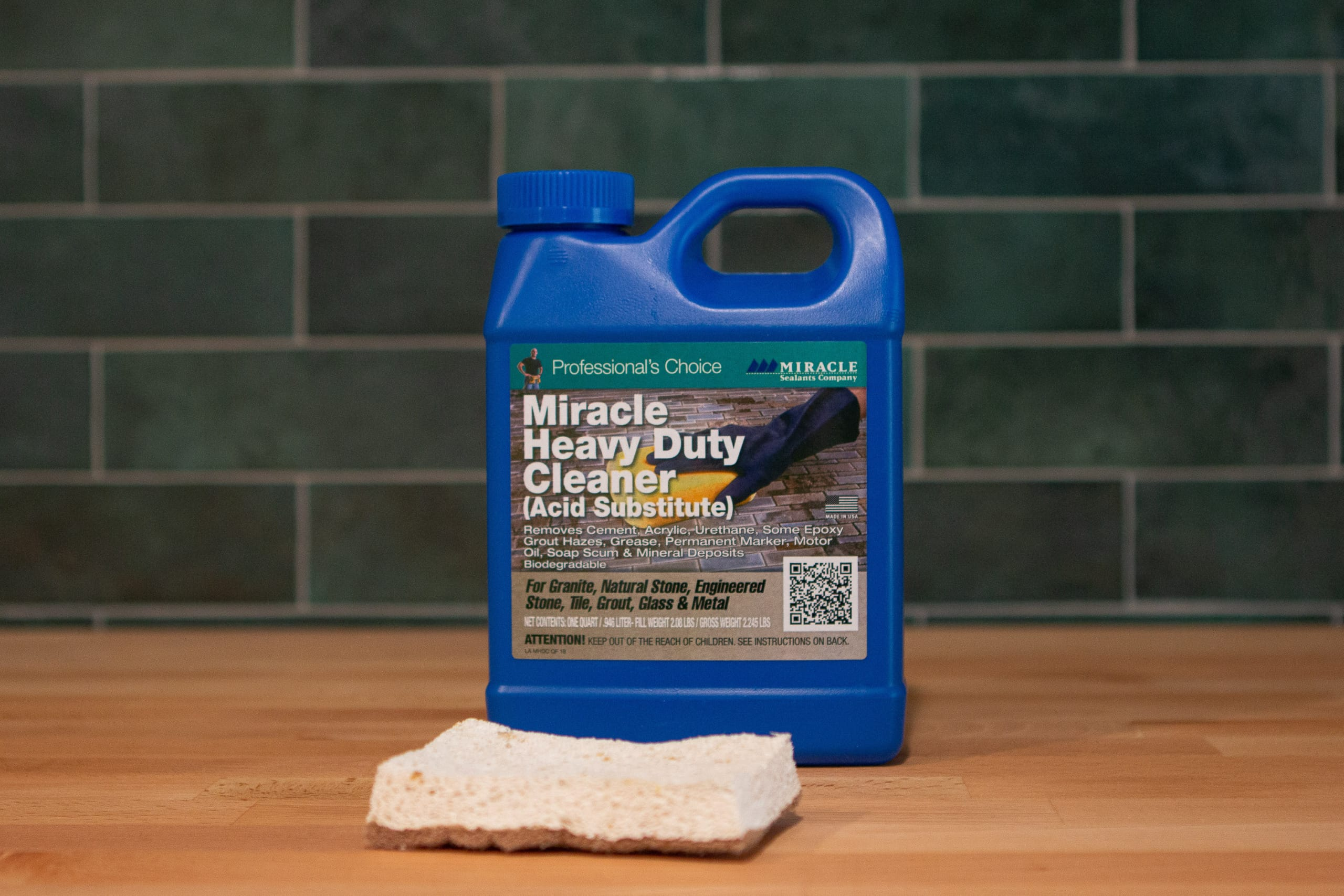 heavy duty cleaner to remove grout haze on tile