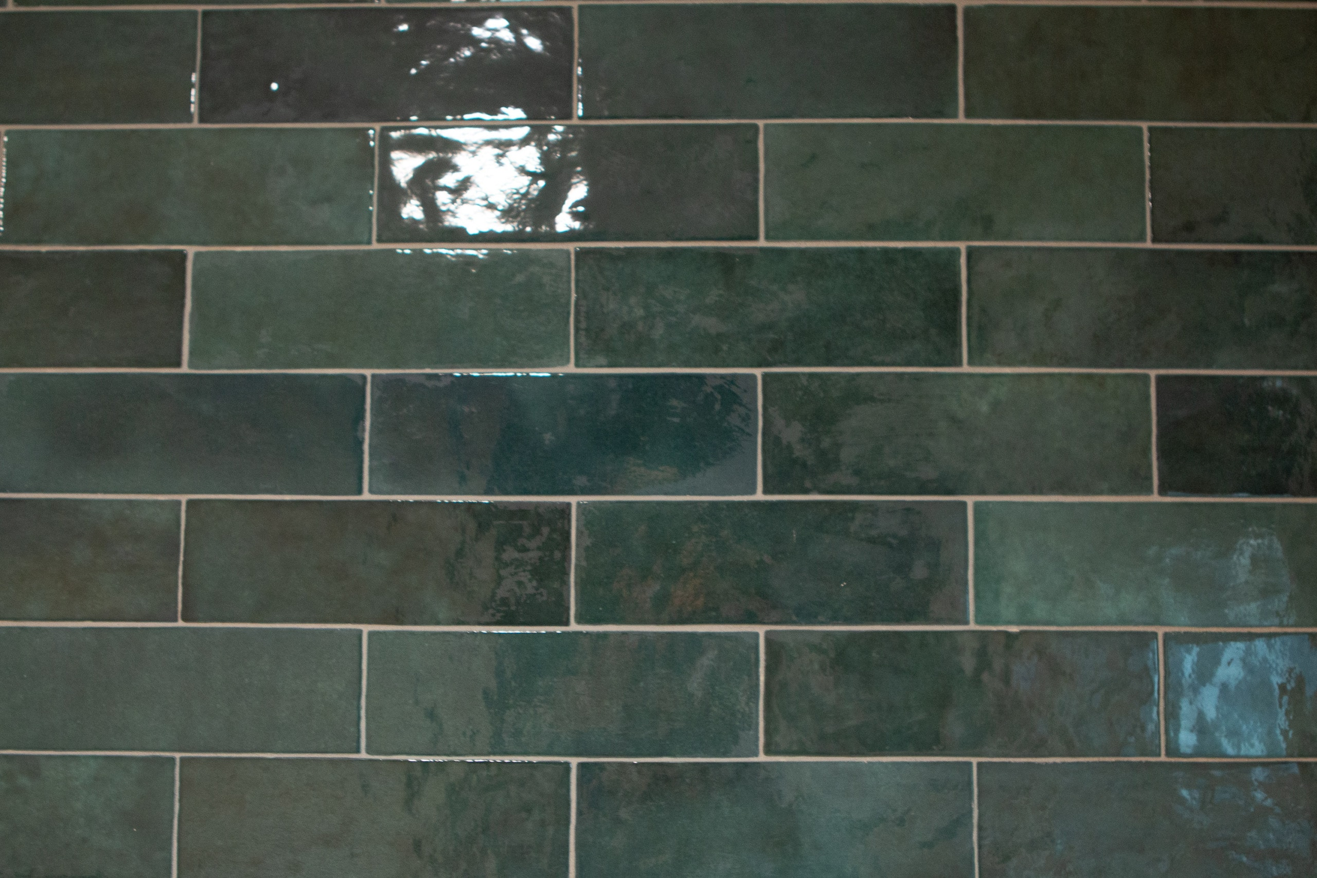Grout haze on tile