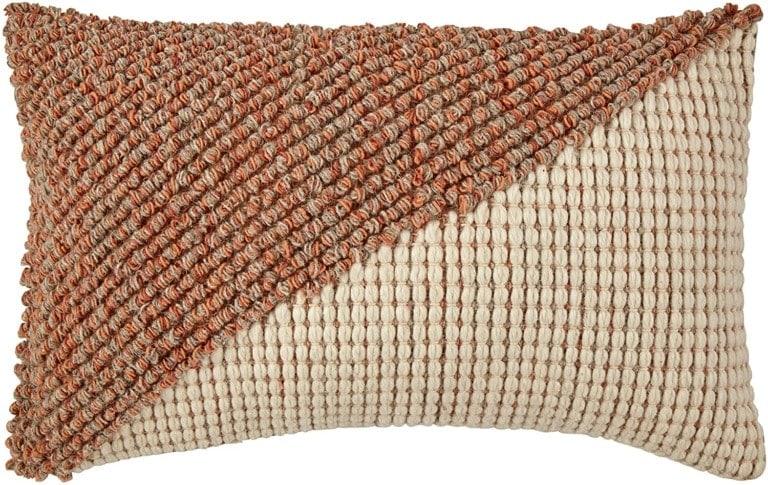 blush lumbar pillow