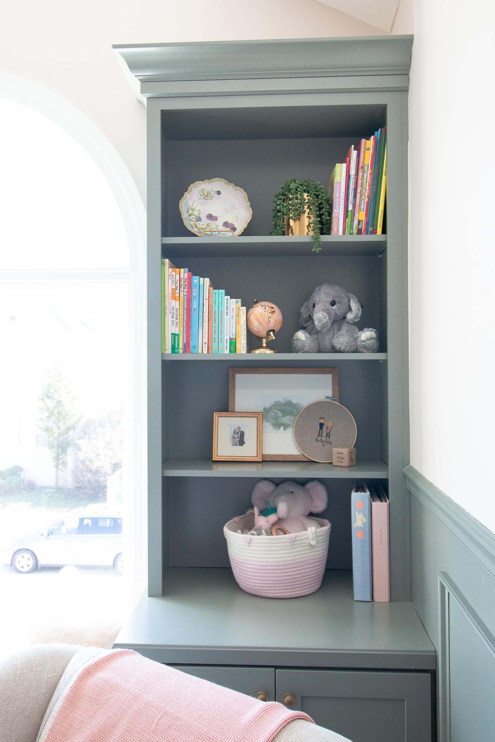 The nursery built-ins