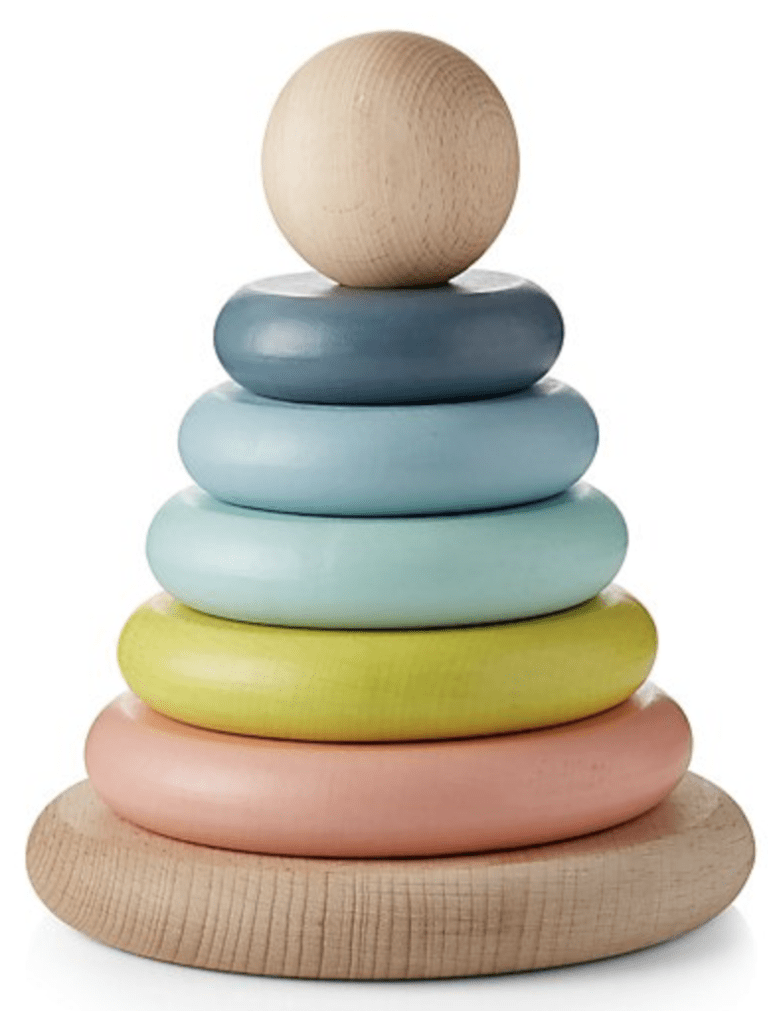wood stacking toy