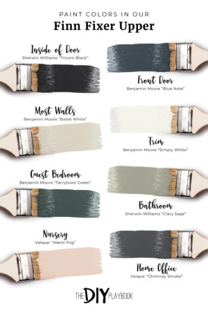 Thumbnail for The Paint Colors in Our Finn Fixer Upper