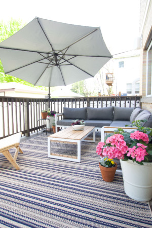 Sharing our deck and patio updates