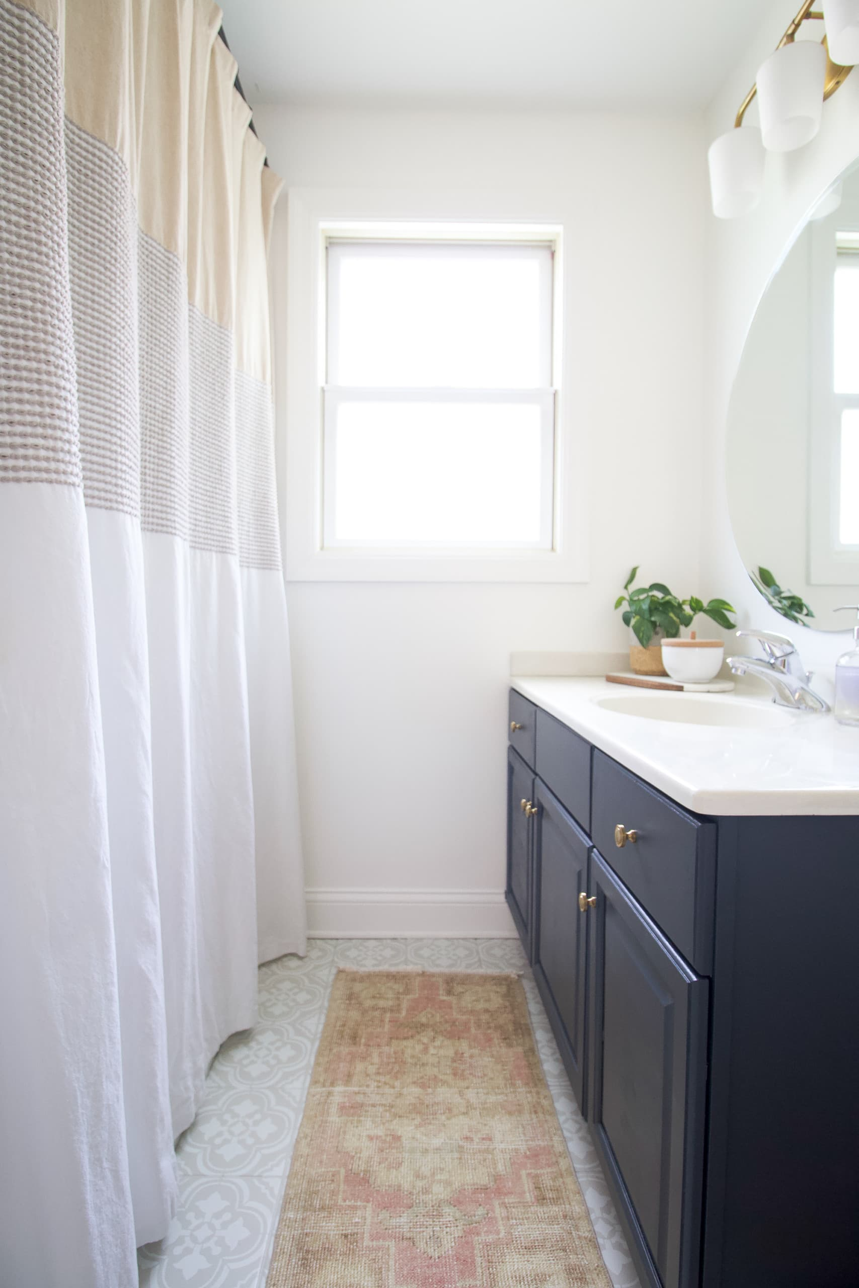 Our budget bathroom makeover