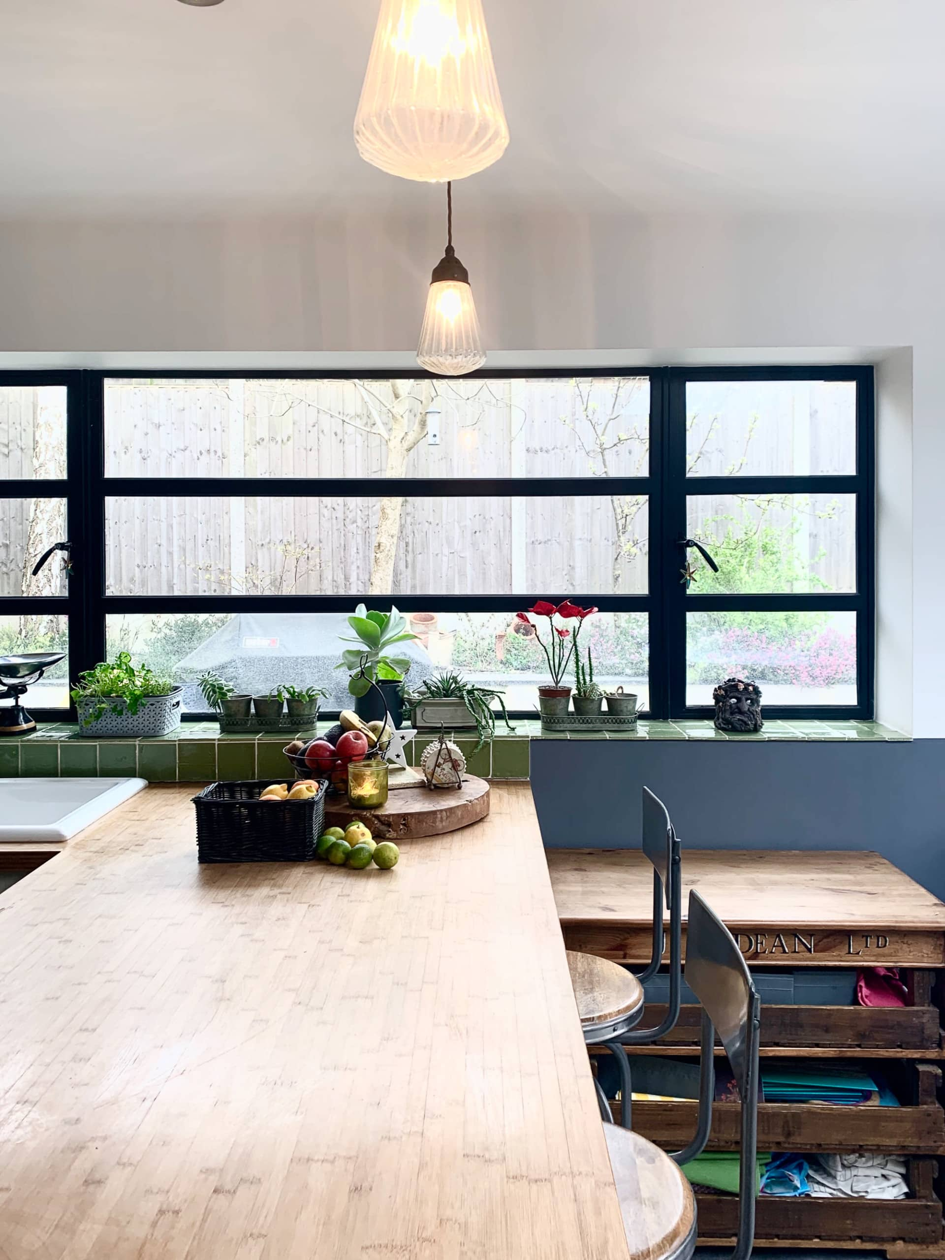 Kitchen in a UK home