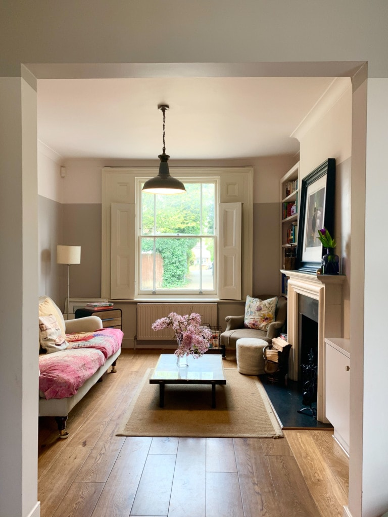 Living room in a UK Home