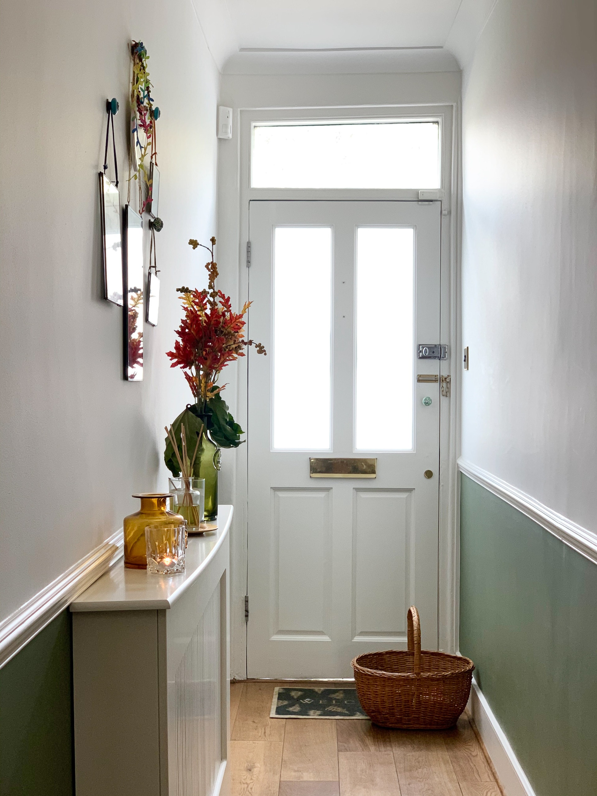 Entryway into a home in the UK